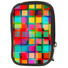 Plaid Line Color Rainbow Red Orange Blue Chevron Compact Camera Cases by Mariart