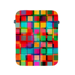 Plaid Line Color Rainbow Red Orange Blue Chevron Apple Ipad 2/3/4 Protective Soft Cases by Mariart