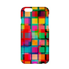 Plaid Line Color Rainbow Red Orange Blue Chevron Apple Iphone 6/6s Hardshell Case by Mariart
