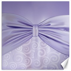 Ribbon Purple Sexy Canvas 16  X 16   by Mariart