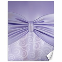 Ribbon Purple Sexy Canvas 18  X 24   by Mariart