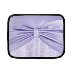 Ribbon Purple Sexy Netbook Case (small)  by Mariart