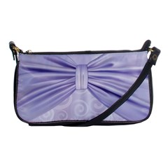 Ribbon Purple Sexy Shoulder Clutch Bags by Mariart