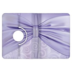 Ribbon Purple Sexy Kindle Fire Hdx Flip 360 Case by Mariart