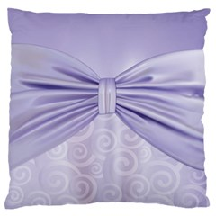 Ribbon Purple Sexy Standard Flano Cushion Case (two Sides) by Mariart