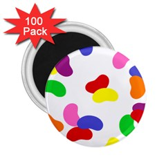 Seed Beans Color Rainbow 2 25  Magnets (100 Pack)  by Mariart