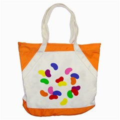 Seed Beans Color Rainbow Accent Tote Bag by Mariart