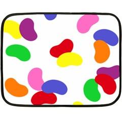 Seed Beans Color Rainbow Fleece Blanket (Mini)