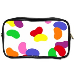 Seed Beans Color Rainbow Toiletries Bags 2 Side by Mariart