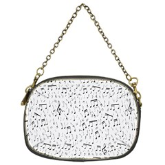 Musical Notes Song Chain Purses (one Side)  by Mariart