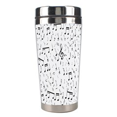 Musical Notes Song Stainless Steel Travel Tumblers by Mariart