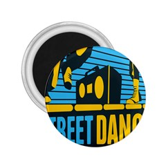 Street Dance R&b Music 2 25  Magnets by Mariart