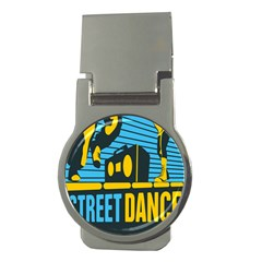 Street Dance R&b Music Money Clips (round)  by Mariart