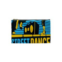 Street Dance R&b Music Cosmetic Bag (small)  by Mariart