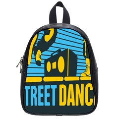 Street Dance R&b Music School Bags (small)  by Mariart
