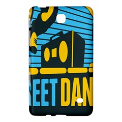 Street Dance R&b Music Samsung Galaxy Tab 4 (8 ) Hardshell Case  by Mariart