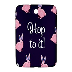 Rabbit Bunny Pink Purple Easter Animals Samsung Galaxy Note 8 0 N5100 Hardshell Case  by Mariart