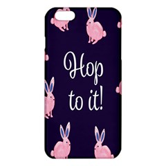Rabbit Bunny Pink Purple Easter Animals Iphone 6 Plus/6s Plus Tpu Case by Mariart