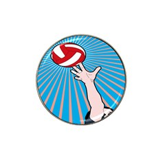 Volly Ball Sport Game Player Hat Clip Ball Marker (10 Pack) by Mariart