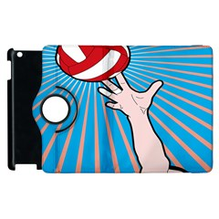 Volly Ball Sport Game Player Apple Ipad 2 Flip 360 Case by Mariart
