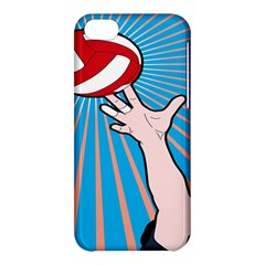 Volly Ball Sport Game Player Apple Iphone 5c Hardshell Case by Mariart