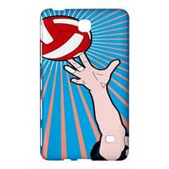 Volly Ball Sport Game Player Samsung Galaxy Tab 4 (7 ) Hardshell Case  by Mariart