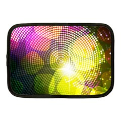 Plaid Star Light Color Rainbow Yellow Purple Pink Gold Blue Netbook Case (medium)  by Mariart