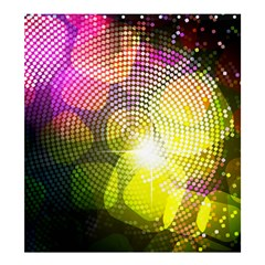 Plaid Star Light Color Rainbow Yellow Purple Pink Gold Blue Shower Curtain 66  X 72  (large)  by Mariart