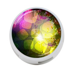Plaid Star Light Color Rainbow Yellow Purple Pink Gold Blue 4 Port Usb Hub (one Side) by Mariart