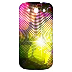 Plaid Star Light Color Rainbow Yellow Purple Pink Gold Blue Samsung Galaxy S3 S Iii Classic Hardshell Back Case by Mariart