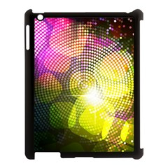 Plaid Star Light Color Rainbow Yellow Purple Pink Gold Blue Apple Ipad 3/4 Case (black) by Mariart