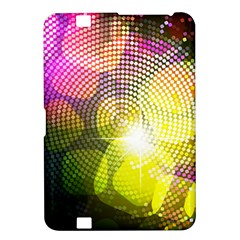 Plaid Star Light Color Rainbow Yellow Purple Pink Gold Blue Kindle Fire Hd 8 9  by Mariart