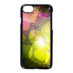 Plaid Star Light Color Rainbow Yellow Purple Pink Gold Blue Apple Iphone 7 Seamless Case (black) by Mariart