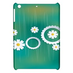 Sunflower Sakura Flower Floral Circle Green Apple Ipad Mini Hardshell Case by Mariart