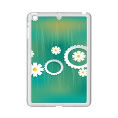 Sunflower Sakura Flower Floral Circle Green Ipad Mini 2 Enamel Coated Cases by Mariart