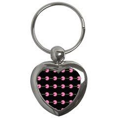 Wallpaper Pacman Texture Bright Surface Key Chains (heart)  by Mariart