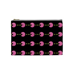 Wallpaper Pacman Texture Bright Surface Cosmetic Bag (medium)  by Mariart