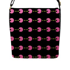 Wallpaper Pacman Texture Bright Surface Flap Messenger Bag (l)  by Mariart