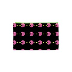 Wallpaper Pacman Texture Bright Surface Cosmetic Bag (xs) by Mariart