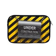 Under Construction Sign Iron Line Black Yellow Cross Apple Macbook Pro 13  Zipper Case by Mariart