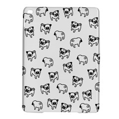 Pug Dog Pattern Ipad Air 2 Hardshell Cases by Valentinaart