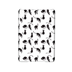 Black Cats Pattern Ipad Mini 2 Hardshell Cases by Valentinaart