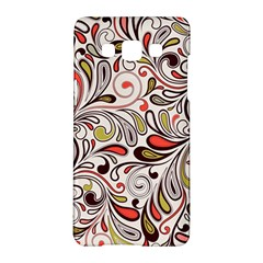 Colorful Abstract Floral Background Samsung Galaxy A5 Hardshell Case  by TastefulDesigns