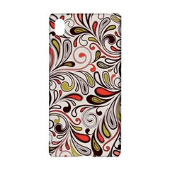 Colorful Abstract Floral Background Sony Xperia Z3+ by TastefulDesigns