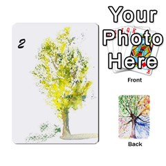 Arboretum Back2 Deckb X1 By Fccdad   Playing Cards 54 Designs   C21ztglmb6o5   Www Artscow Com Front - Spade3