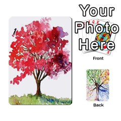Arboretum Back2 Deckb X1 By Fccdad   Playing Cards 54 Designs   C21ztglmb6o5   Www Artscow Com Front - Heart5