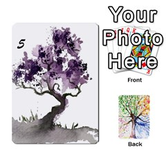 Queen Arboretum Back2 Deckb X1 By Fccdad   Playing Cards 54 Designs   C21ztglmb6o5   Www Artscow Com Front - DiamondQ