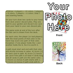 Queen Arboretum Back2 Deckb X1 By Fccdad   Playing Cards 54 Designs   C21ztglmb6o5   Www Artscow Com Front - ClubQ