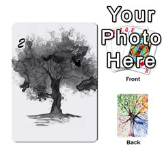 Arboretum Back2 Decka X2 By Fccdad   Playing Cards 54 Designs   Pido48227y9y   Www Artscow Com Front - Spade3