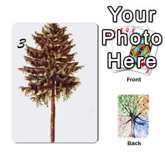 Queen Arboretum Back2 Decka X2 By Fccdad   Playing Cards 54 Designs   Pido48227y9y   Www Artscow Com Front - SpadeQ